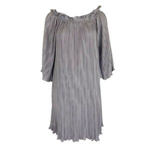 Hayden Los Angeles Pleated Violet Dress Size Small